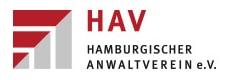 Logo des Hamburgischen Anwaltvereins